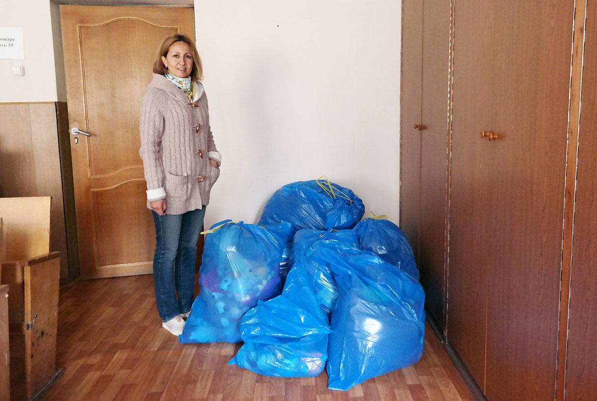Как нам помогли жители микрорайона Синявинская 11