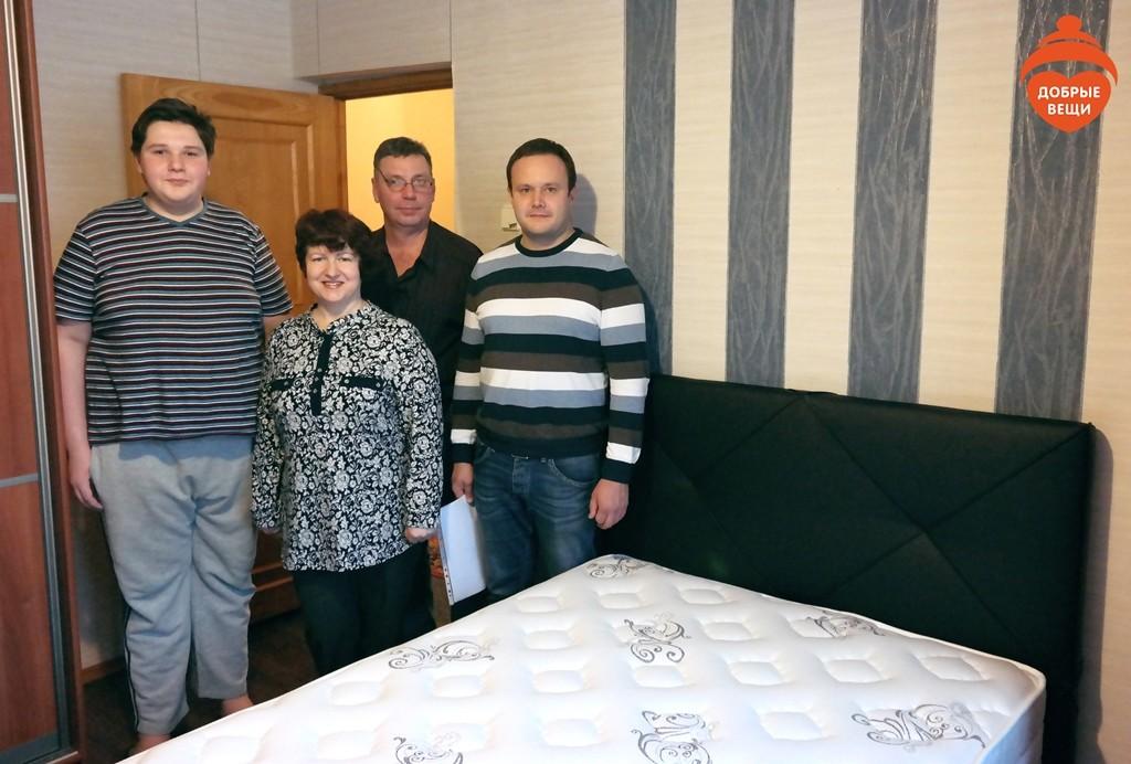 Отчет о собранных вещах для Романа Новикова