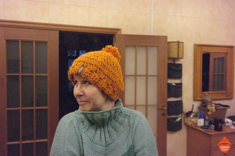 Мы вручили декабрьскую шапочку!
