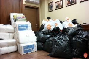 Мы помогли жителям Армянска