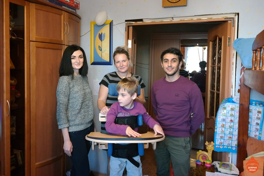 Мы  помогли Лежушкину Мише, Арутюнову Артуру и Ловкову Артему