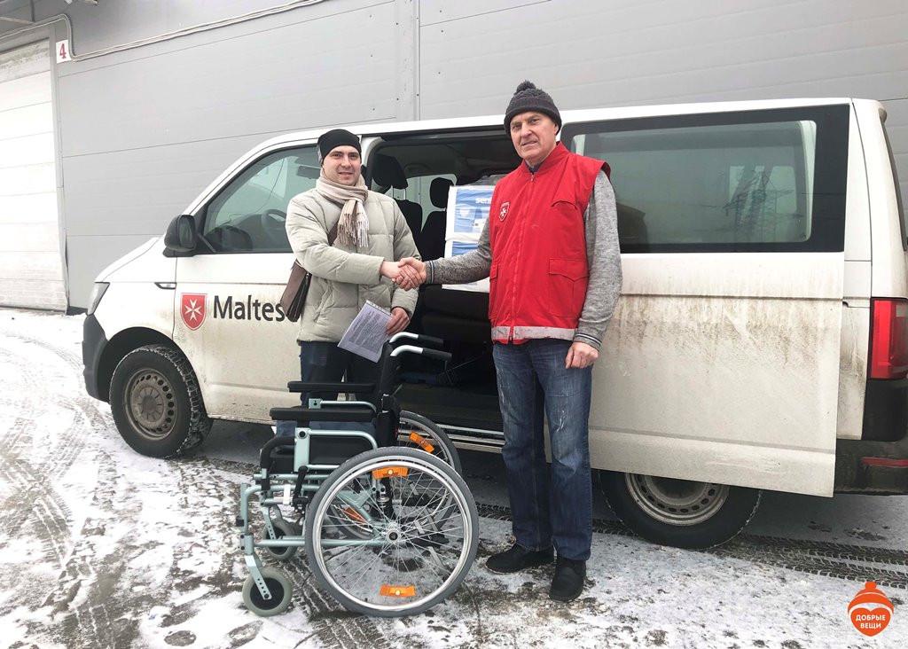 Мы помогли благотворительному фонду «Мальтийская служба помощи Аугсбург и Берлин». И они нам тоже!