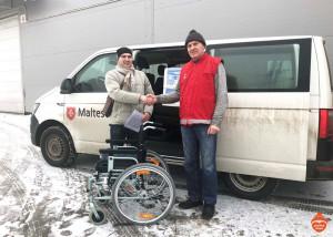 Мы помогли благотворительному фонду «Мальтийская служба помощи Аугсбург и Берлин»