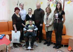 Мы помогли Леше Вострикову