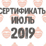 Отчет по выданным вещам в июле (2019 г.)