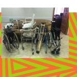 Мы помогли районной организации ВОИ «Бабушкинский»