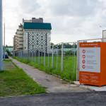 Мы установили контейнер в ЖК «Одинцовские кварталы»